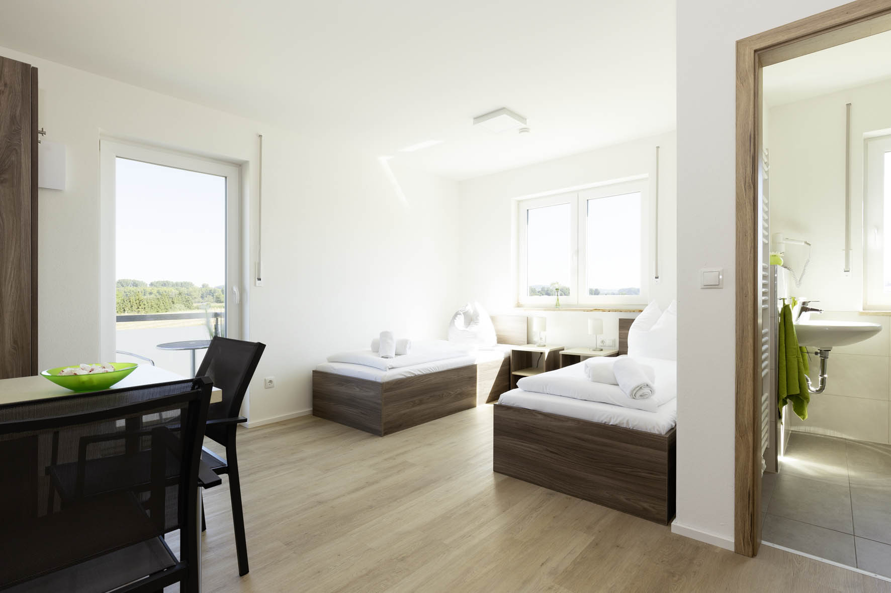 Zimmer mit Balkon - Green Guest House