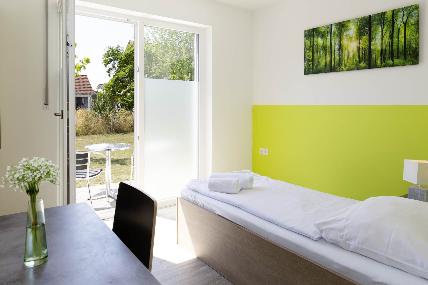 Room with terrace- Green Guest House