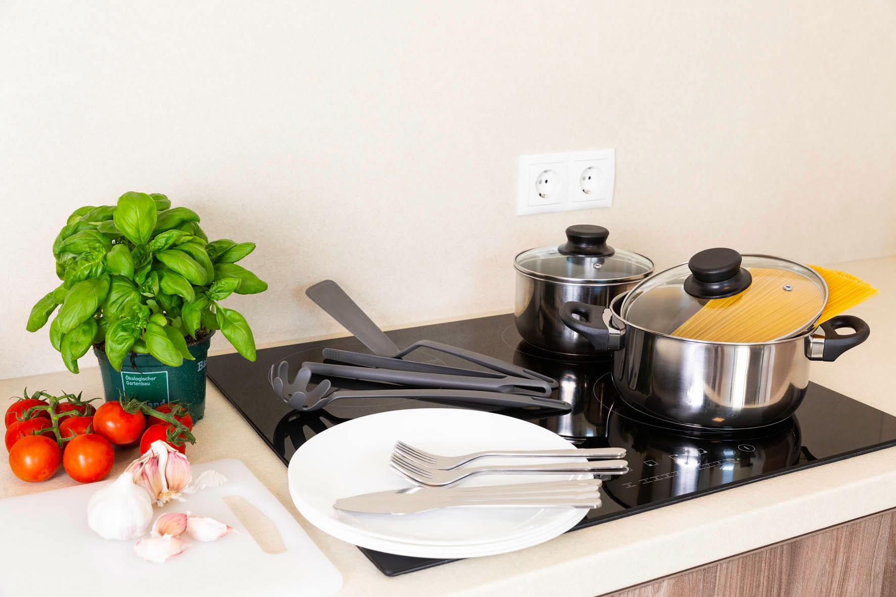 Küche im Zimmer - Green Guest House