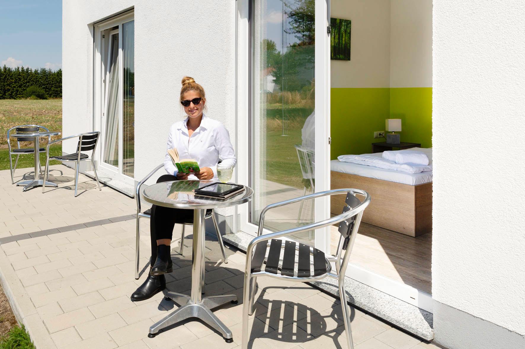 Zimmer mit Terrasse - Green Guest House