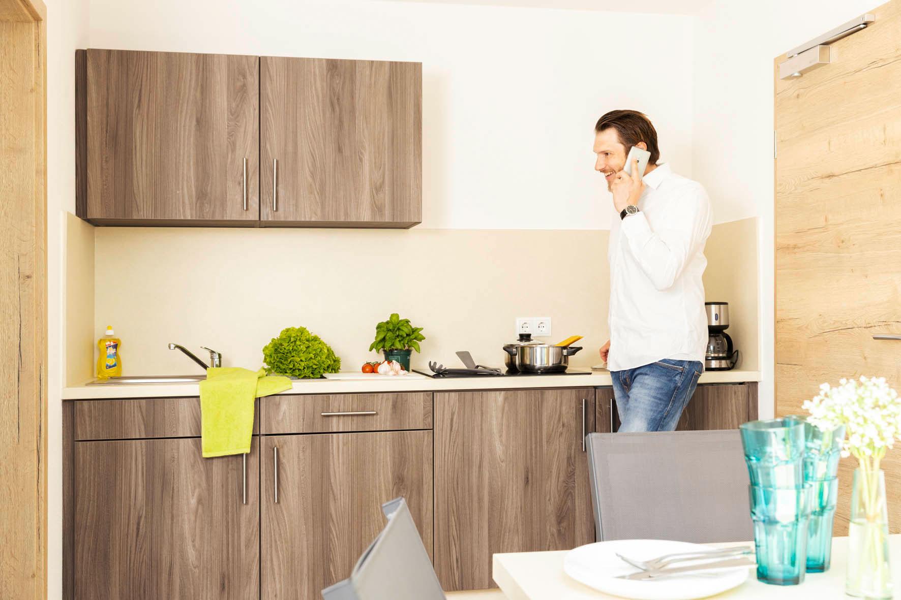 Zimmer mit Küche - Green Guest House
